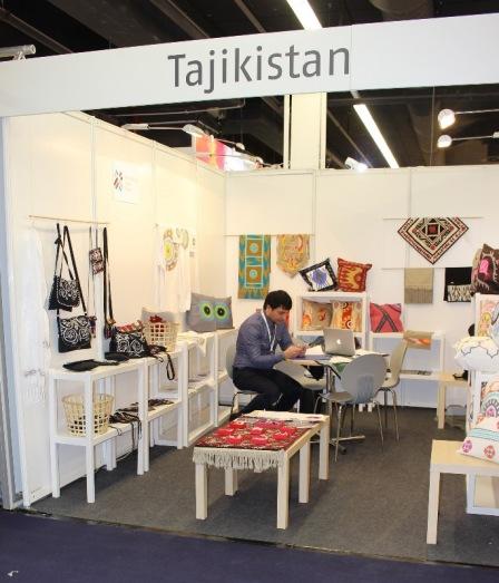 Tajikistan booth
